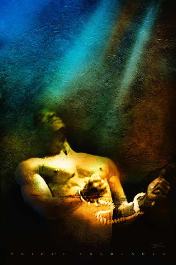 Prides Surrender Mixed Media  - Prides Surrender Fine Art Print