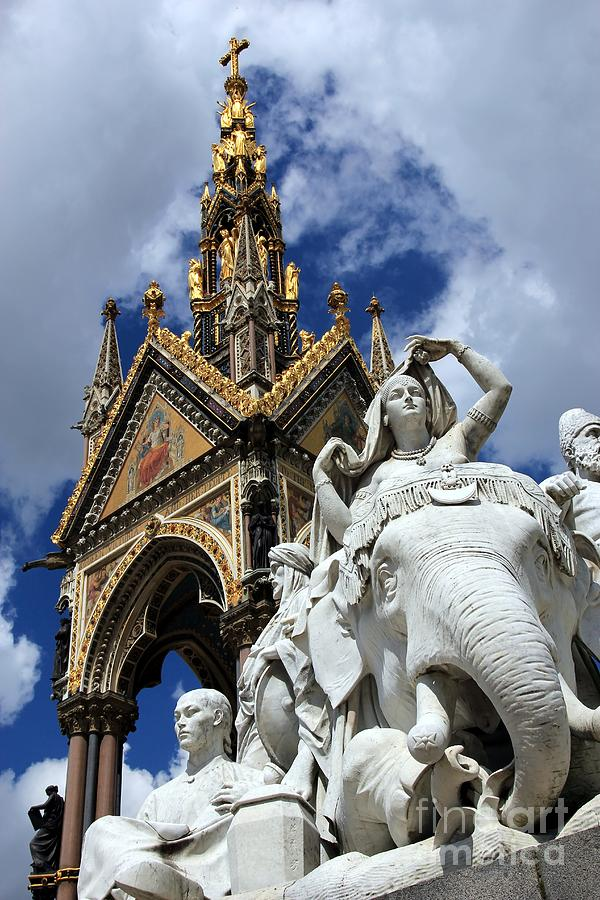 Prince Albert Photograph - Prince Albert Memorial London by Sophie Vigneault