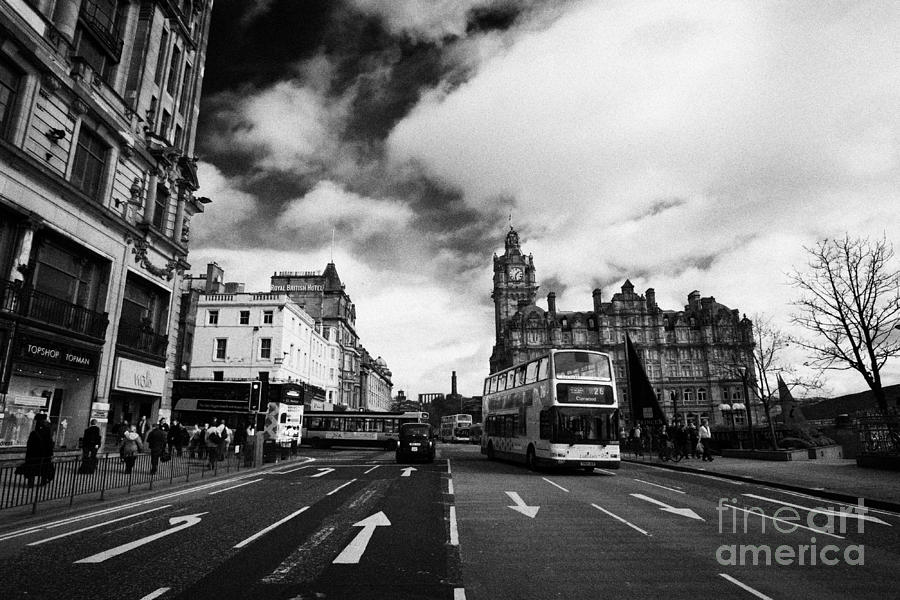 Princes Street Edinburgh Scotland Photograph
