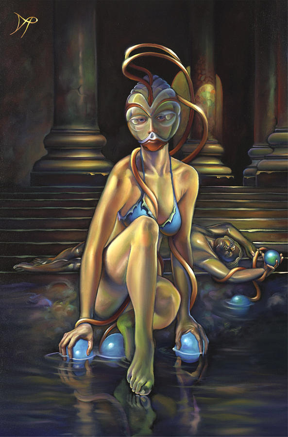 Princess Dejah Thoris Of Helium Painting