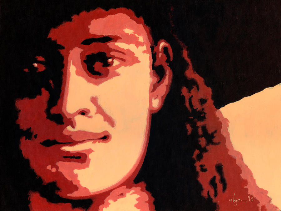 Princess Kaiulani Painting  - Princess Kaiulani Fine Art Print