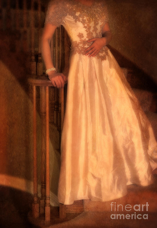 Princess On Stairway Photograph  - Princess On Stairway Fine Art Print