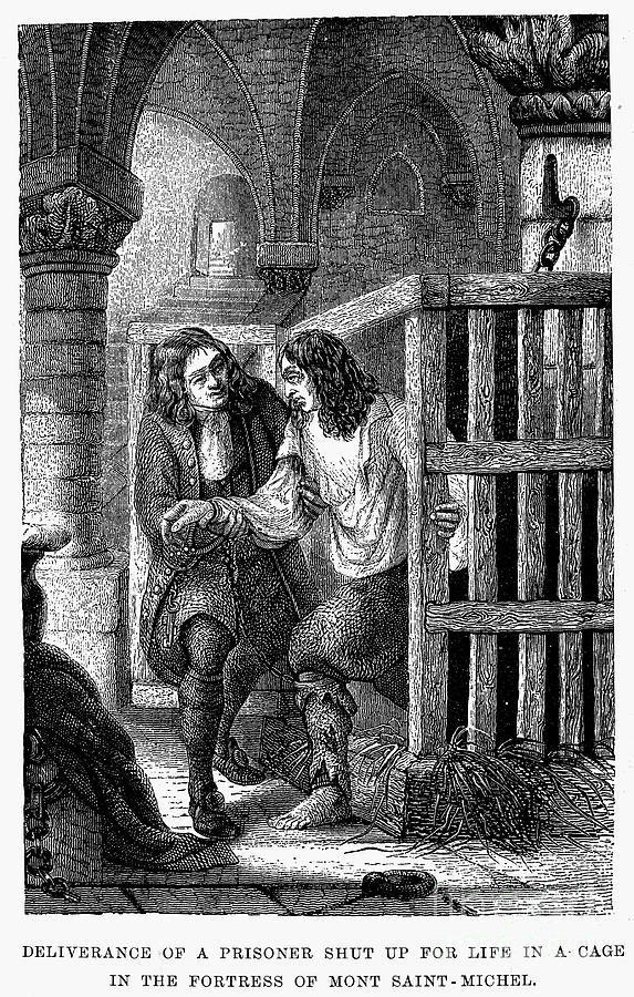 Prison: Cage, 17th Century Photograph