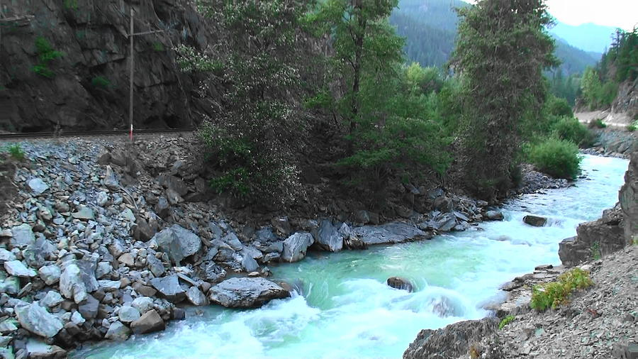 Landscape Photograph - Pristine River by Aamir Khayam