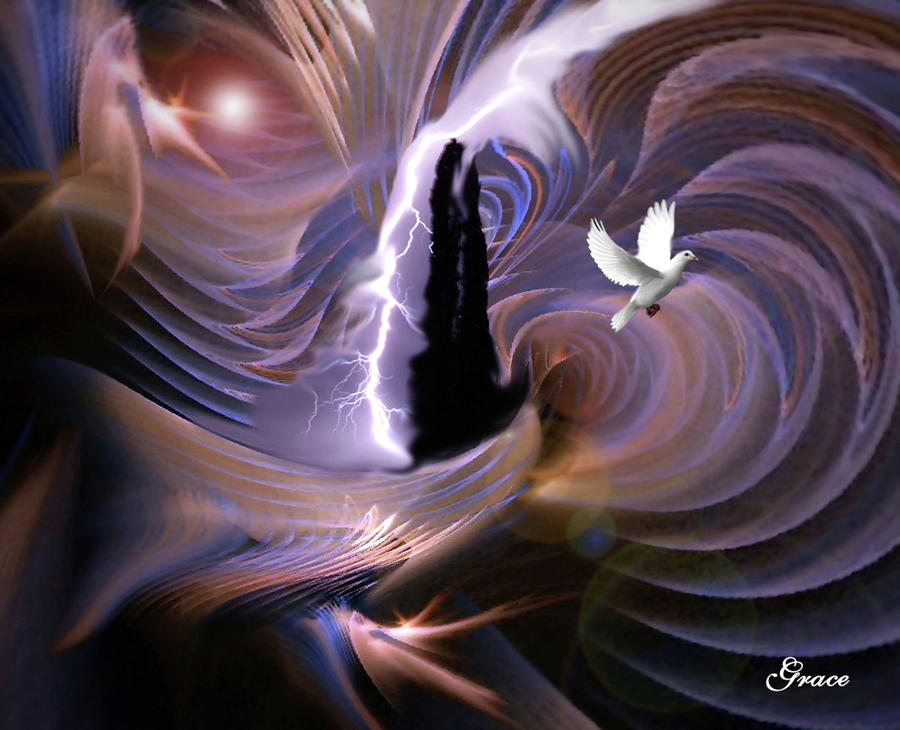 Proclaiming The Glory Digital Art