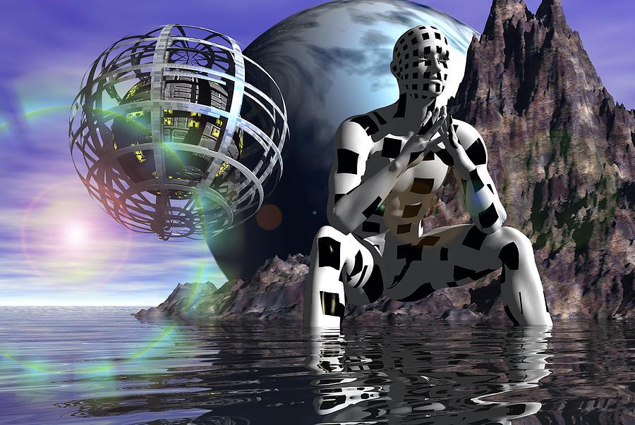 Programming With The Bio-computer Digital Art