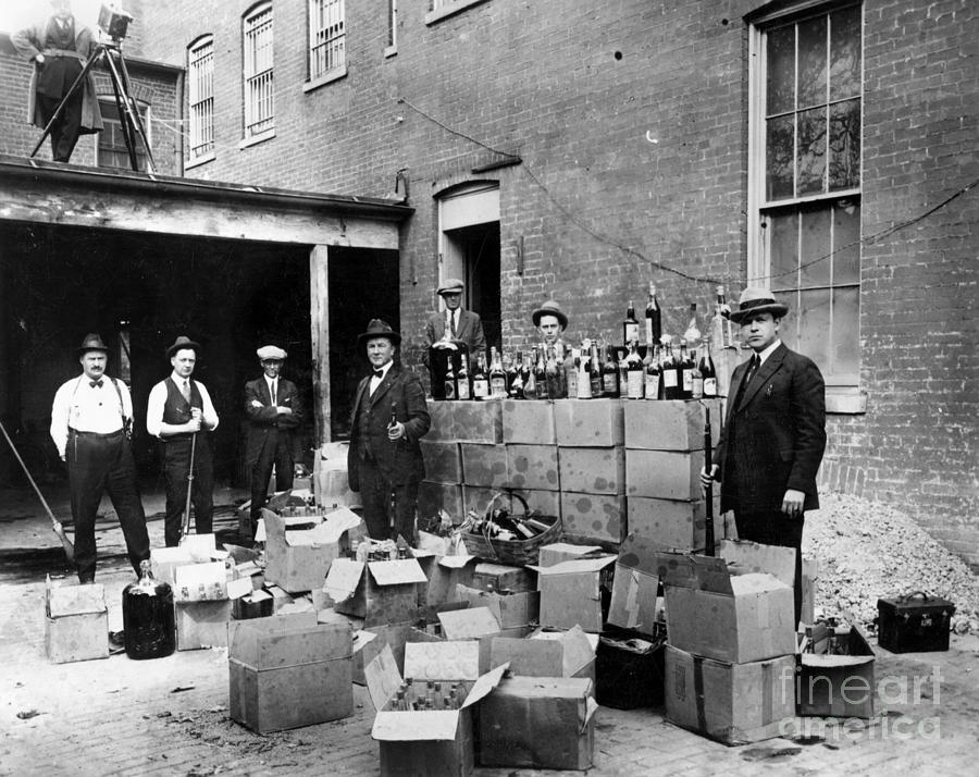 Prohibition, 1922 Photograph  - Prohibition, 1922 Fine Art Print