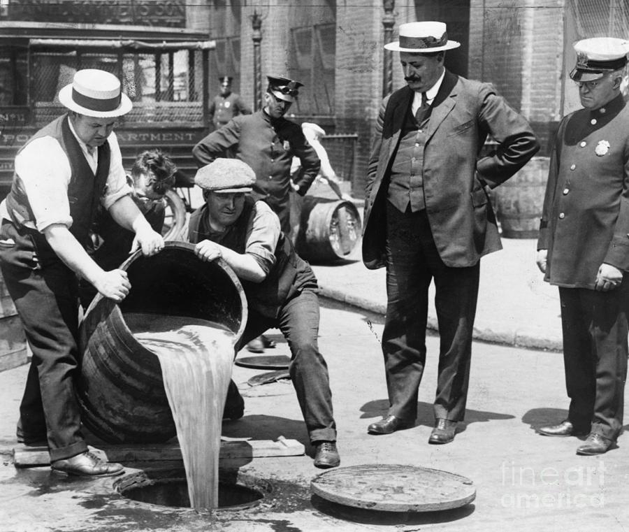 Prohibition, C1921 Photograph