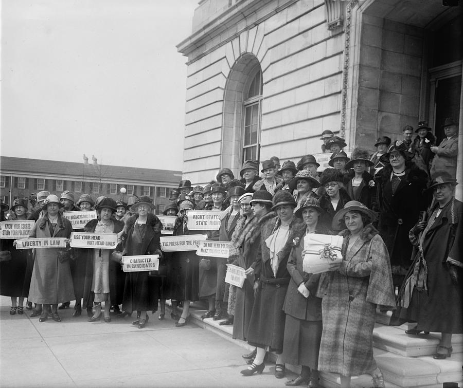 Prohibition, Women From New Jersey Photograph