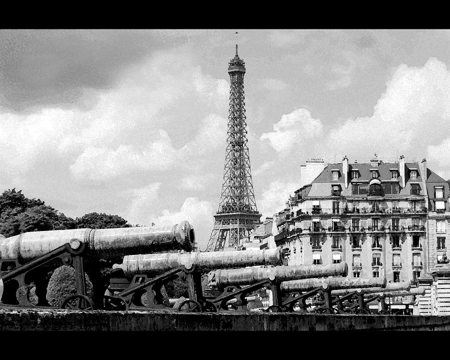 Protecting Paris Photograph  - Protecting Paris Fine Art Print