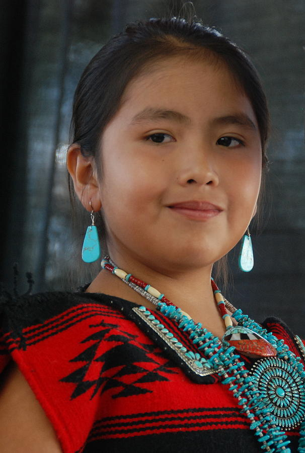proud to be a beautiful native american by irina