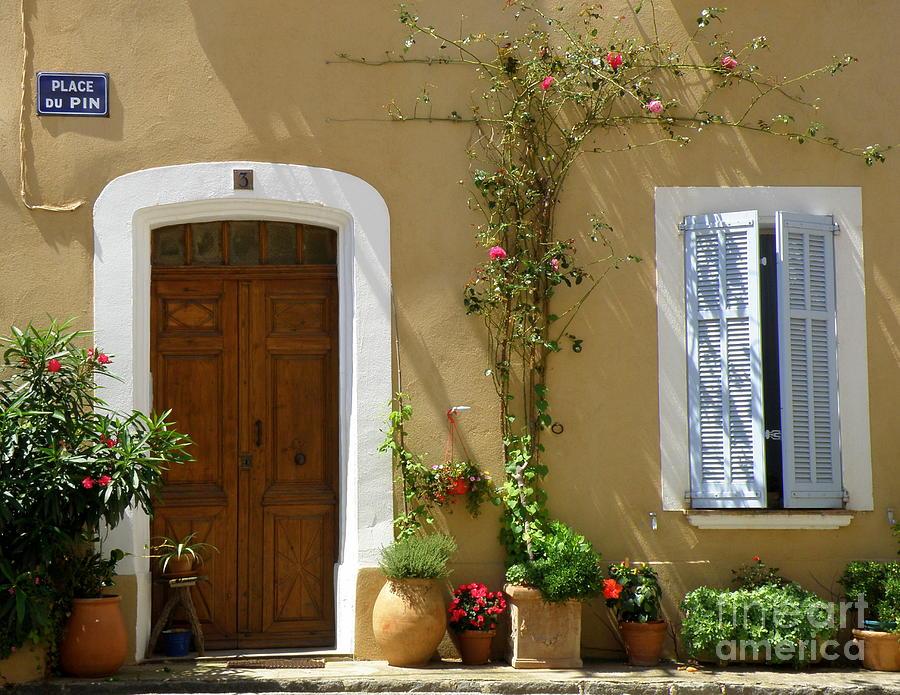 Provence Door 3 Photograph