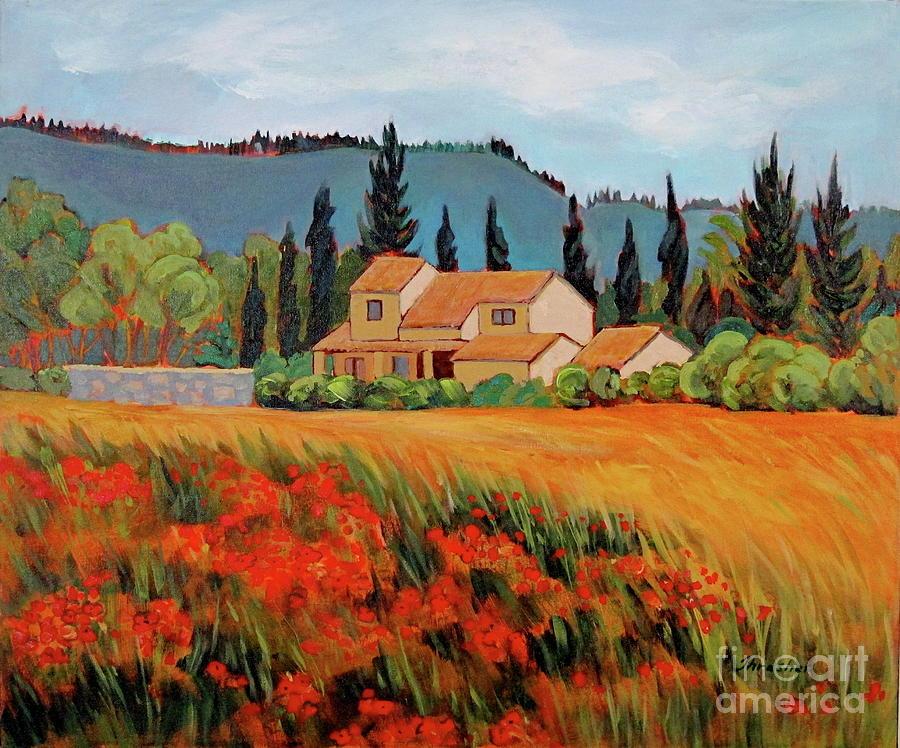 Provence Villa Painting