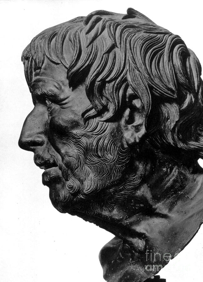2nd Century B. C. Photograph - Pseudo-seneca by Granger
