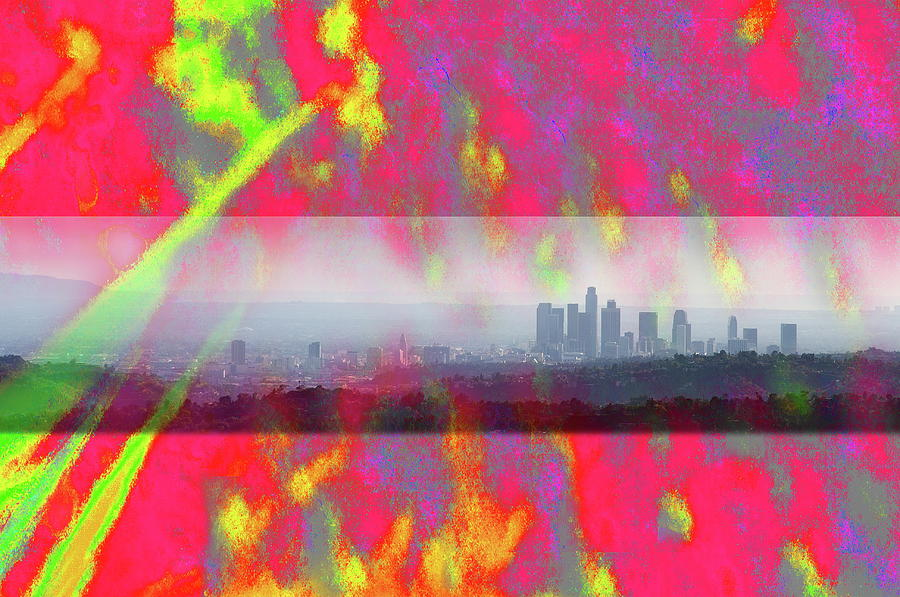psychedelic energy of Los Angeles Photograph