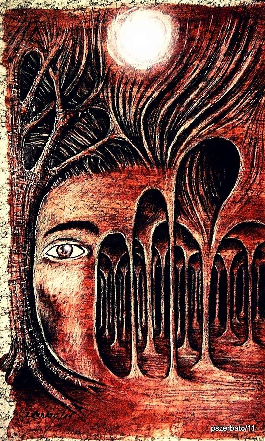 Psychological Labyrinth Digital Art