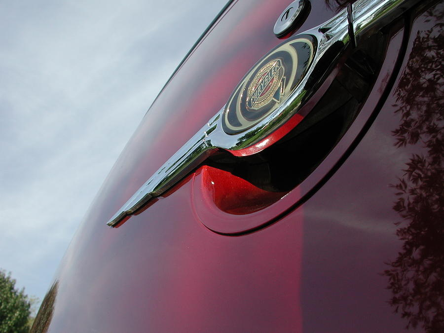 Pt Cruiser Photograph - Pt Cruiser Emblem by Thomas Woolworth