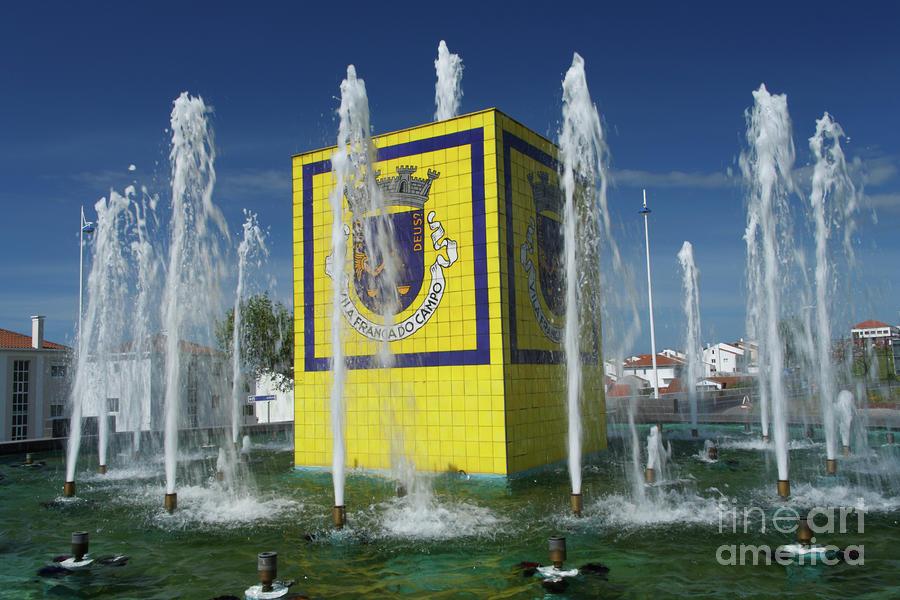 Public Fountain Photograph