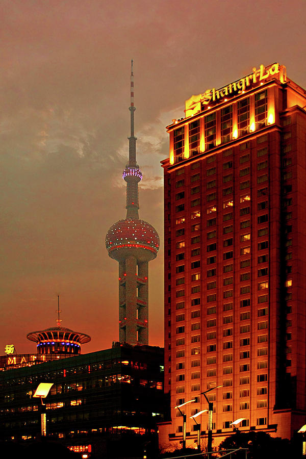 Pudong Shanghai - First City Of The 21st Century Photograph