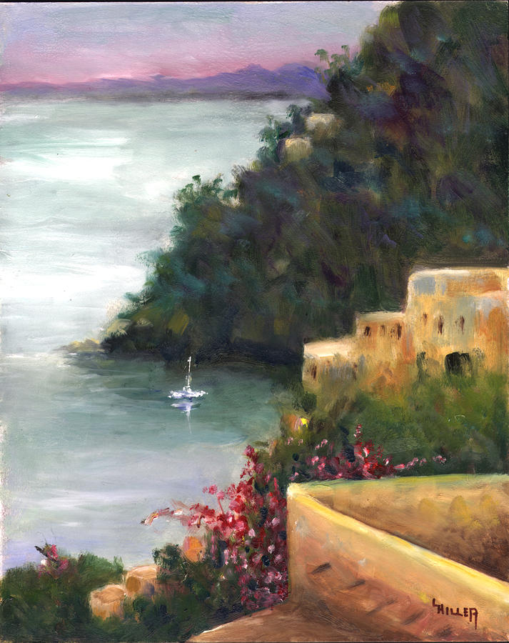 Pueblo Bay Painting  - Pueblo Bay Fine Art Print