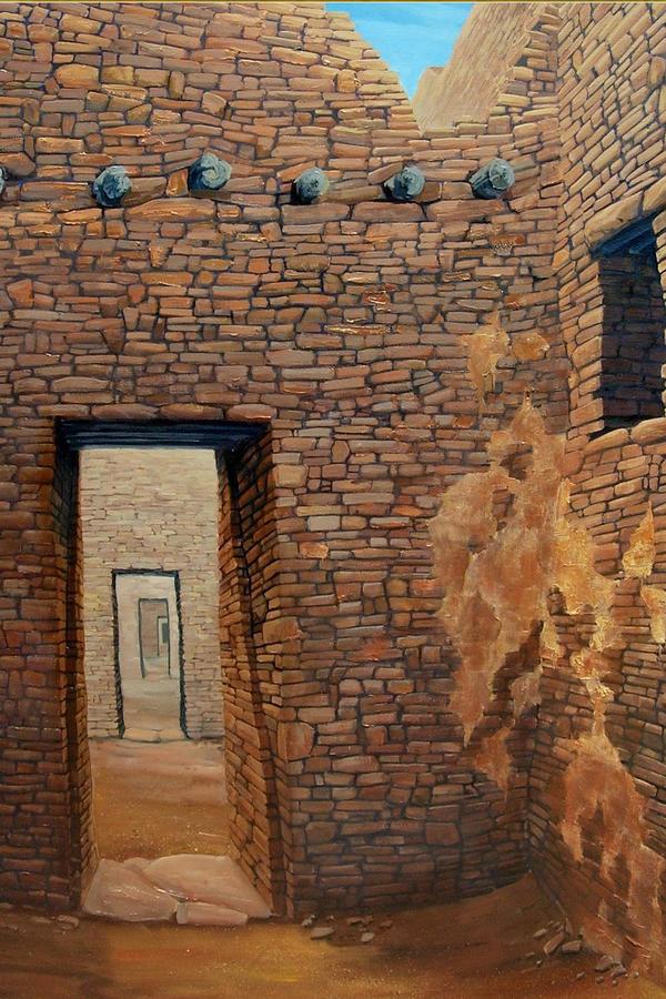 Pueblo Bonito Painting