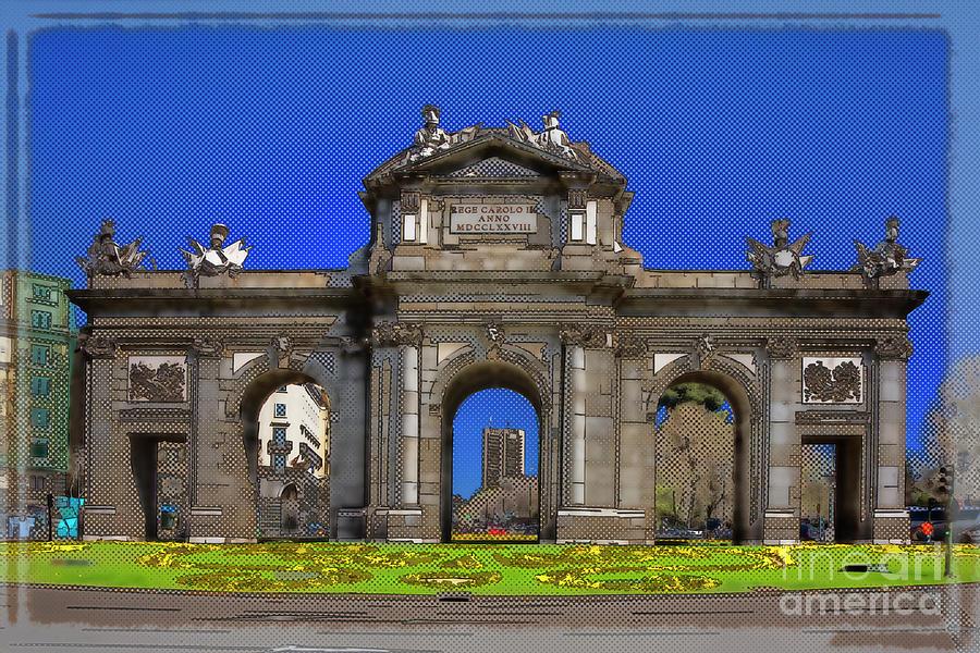 Puerta De Alcala In Your Dreams Photograph  - Puerta De Alcala In Your Dreams Fine Art Print