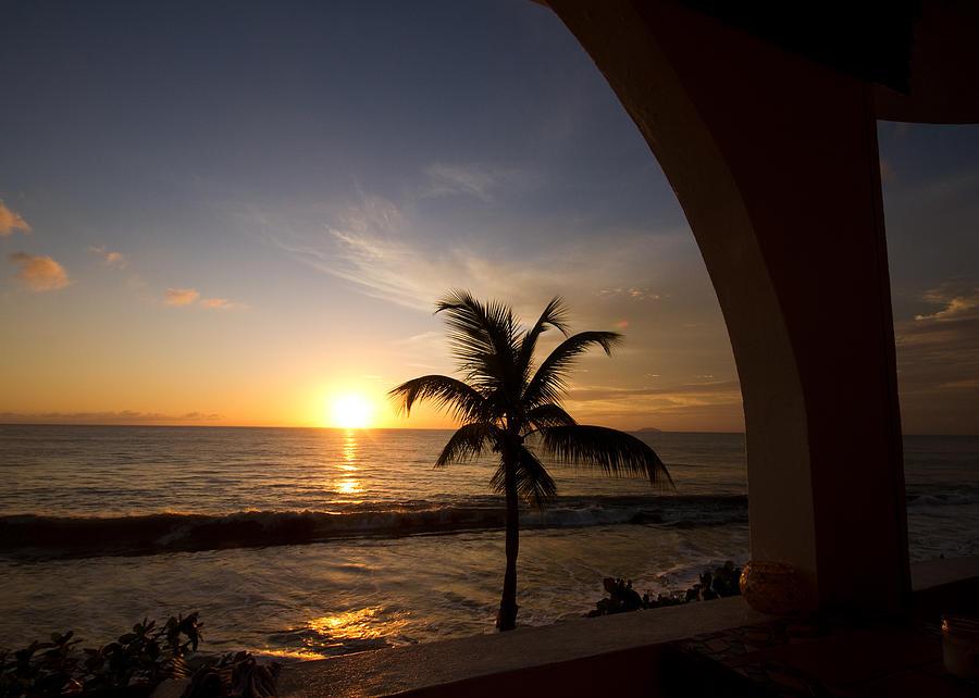 Puerto Rican Sunset I Photograph