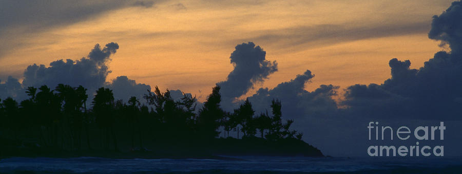 Puerto Rico Beach At Sunset Photograph
