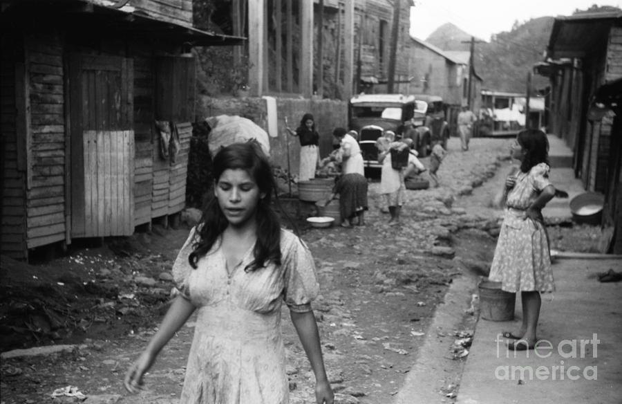 Puerto Rico: Slum, 1942 Photograph