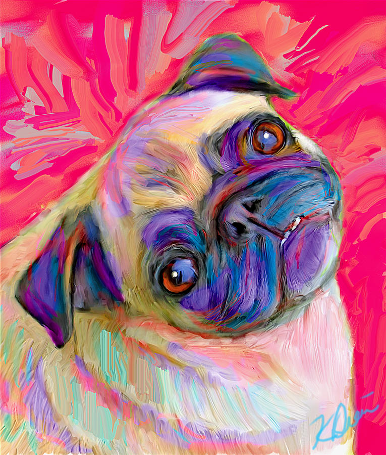 Pugsly Digital Art