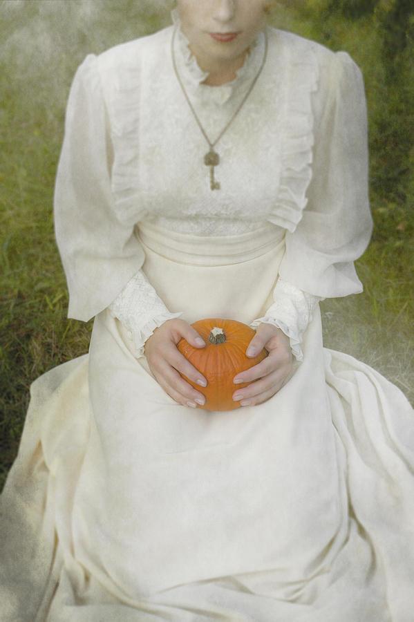 Woman Photograph - Pumpkin by Joana Kruse