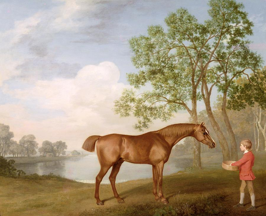 Pumpkin With A Stable-lad Painting