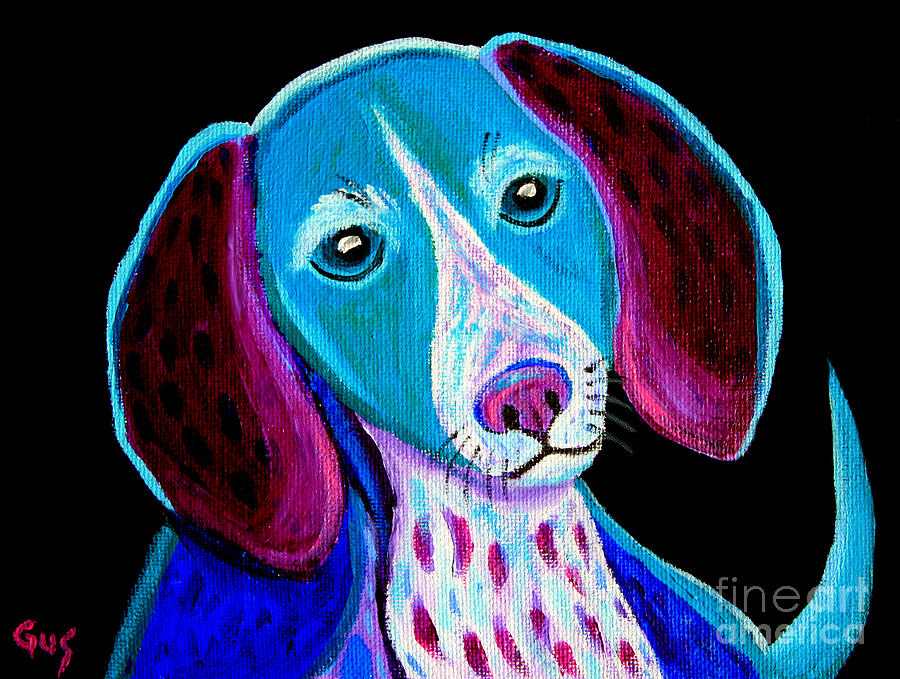 Puppy Painting - Puppy Love by Nick Gustafson