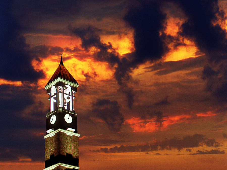 Purdue Bell Tower Photograph