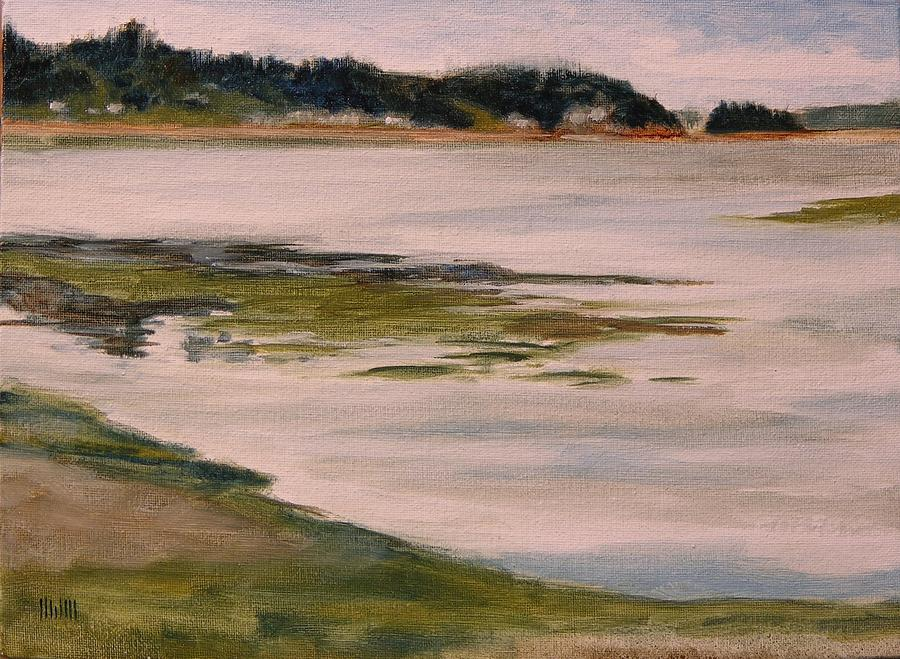 Purdy At Low Tide Painting  - Purdy At Low Tide Fine Art Print