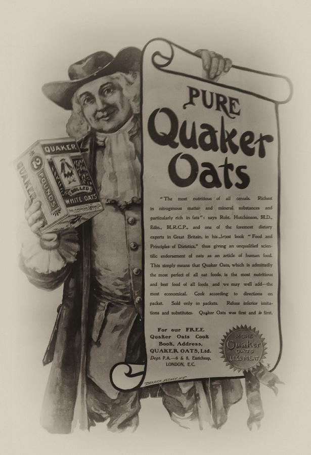 Pure Quaker Oates Photograph
