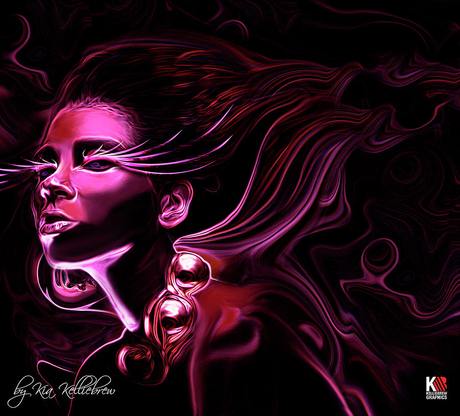 Purple Haze Digital Art