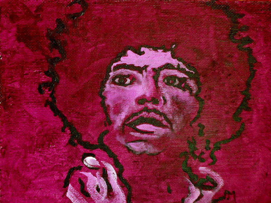 Purple Haze Painting  - Purple Haze Fine Art Print