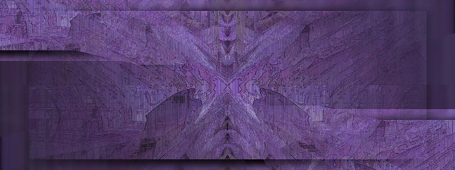 Purple Poeticum Digital Art