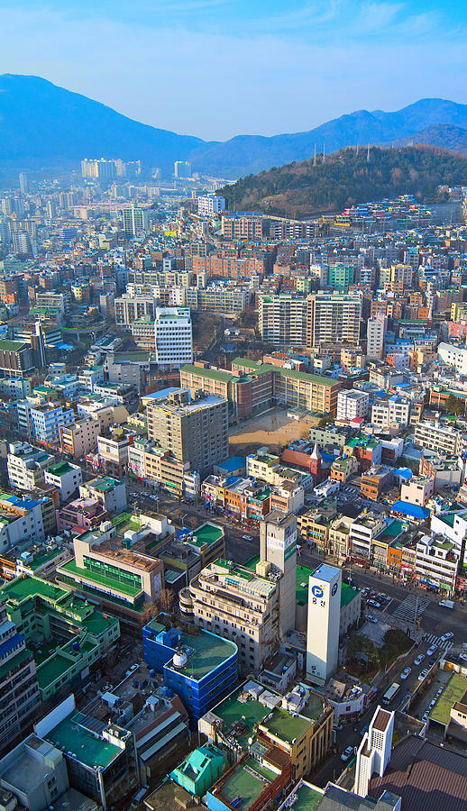 Pusan City South Korea 2012 Photograph  - Pusan City South Korea 2012 Fine Art Print