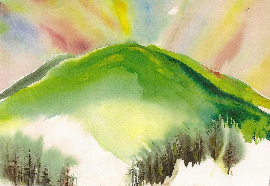 Puu O Waimea Painting