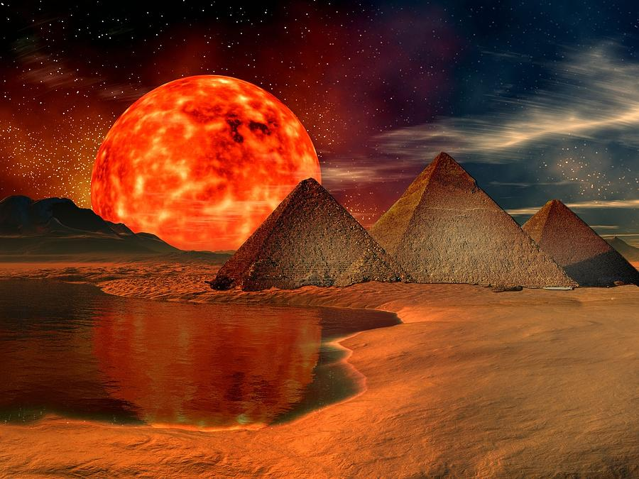 pyramids on different planets - photo #36
