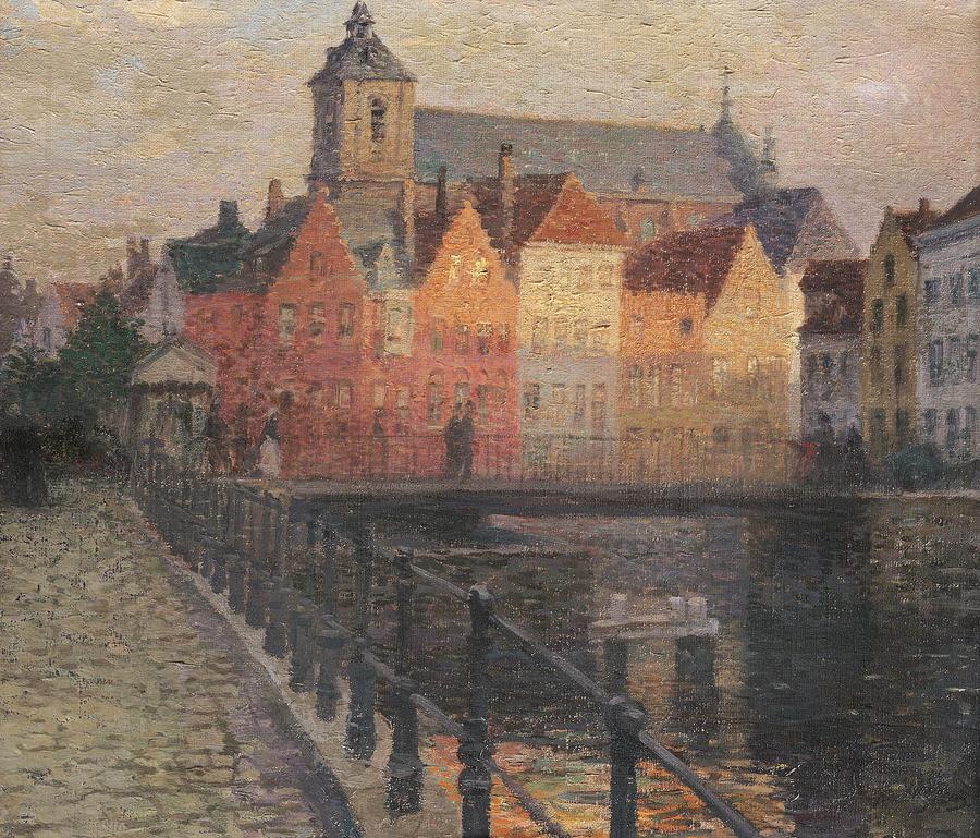 Quai De La Paille Painting