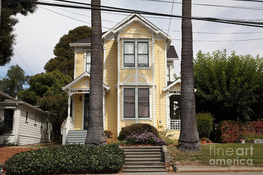 Quaint House Architecture - Benicia California - 5d18591 Photograph  - Quaint House Architecture - Benicia California - 5d18591 Fine Art Print