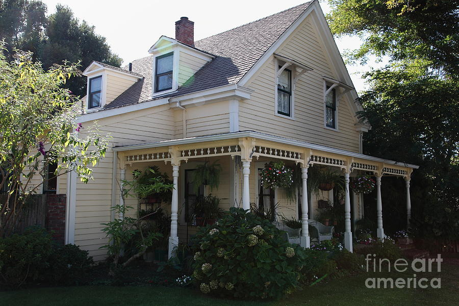 Quaint House Architecture - Benicia California - 5d18793 Photograph  - Quaint House Architecture - Benicia California - 5d18793 Fine Art Print