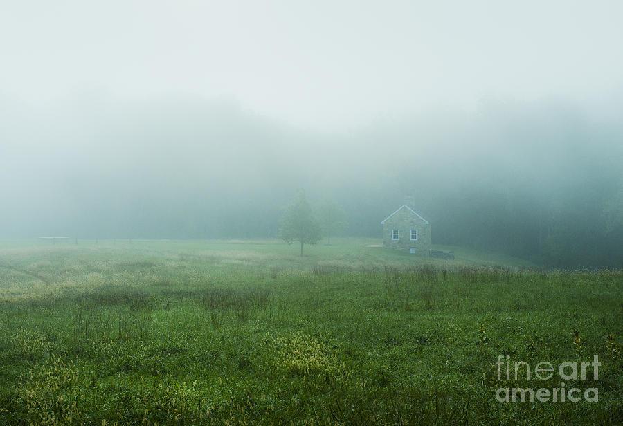 Quaint Stone Cottage Photograph