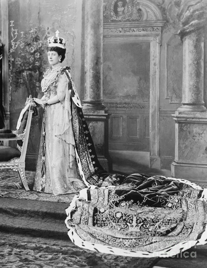 Queen Alexandra, 1902 Photograph  - Queen Alexandra, 1902 Fine Art Print