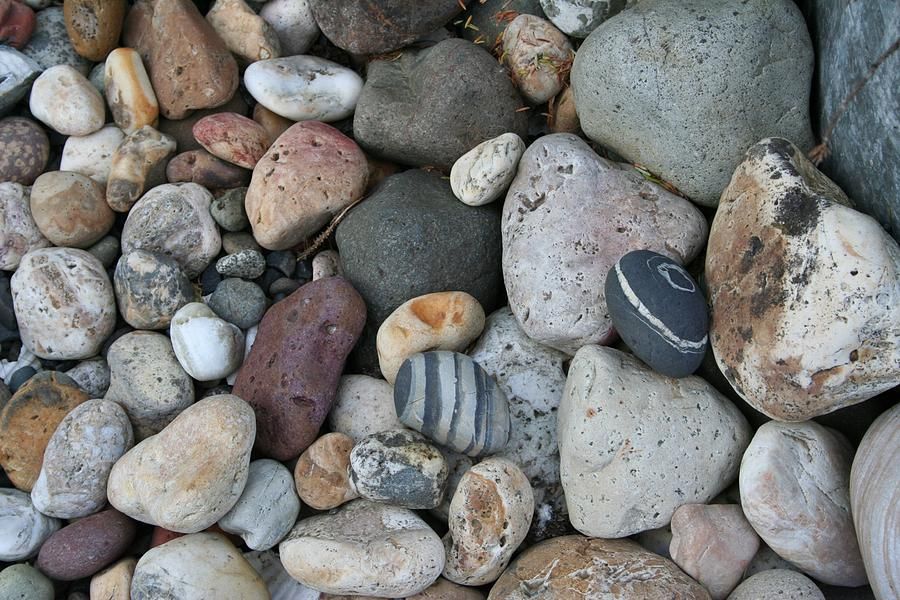 Queen Charlotte Island Stones Photograph