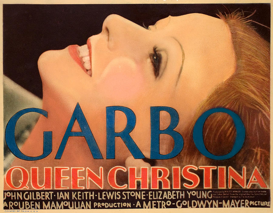 Queen Christina, Greta Garbo, 1933 Photograph  - Queen Christina, Greta Garbo, 1933 Fine Art Print