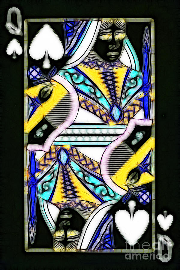 Queen Of Spades - V2 Photograph  - Queen Of Spades - V2 Fine Art Print